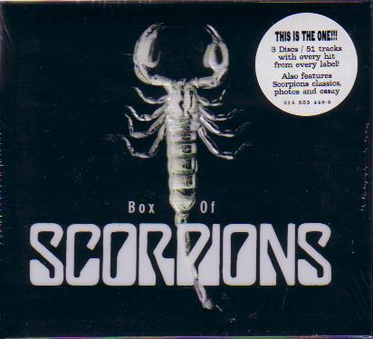 Scorpions - Box of Scorpions