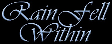 Rain Fell Within - Logo