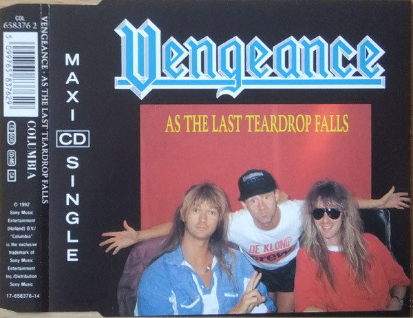 Vengeance - As the Last Teardrop Falls