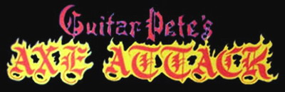 Guitar Pete's Axe Attack - Logo