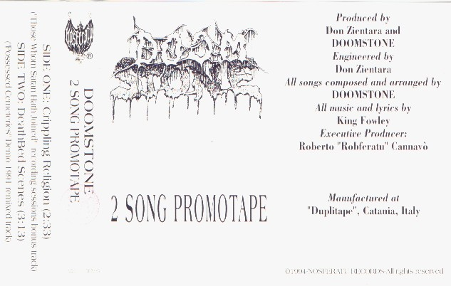 Doomstone - 2 Song Promo Tape