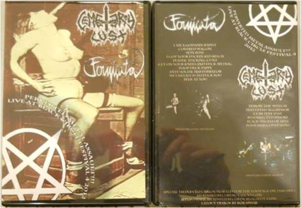 Fornicator / Cemetery Lust - Perverted Metal Assault!!! Live at Black Circle Festival 4 2012