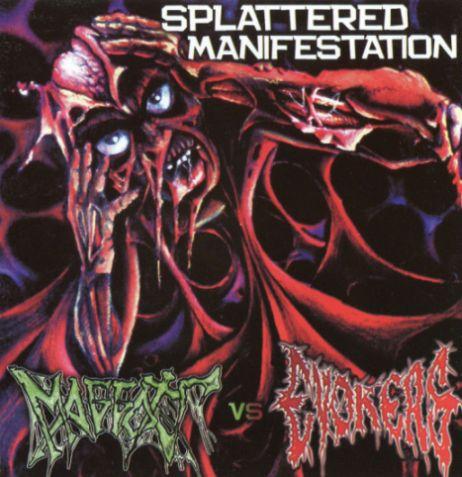Maggots / Evokers - Splattered Manifestation