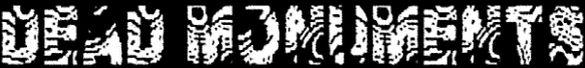 Dead Monuments - Logo