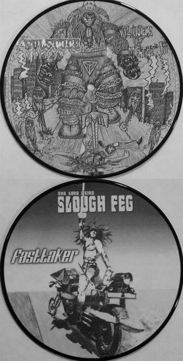 Slough Feg / Solstice - Gloves of Metal / Fast Taker