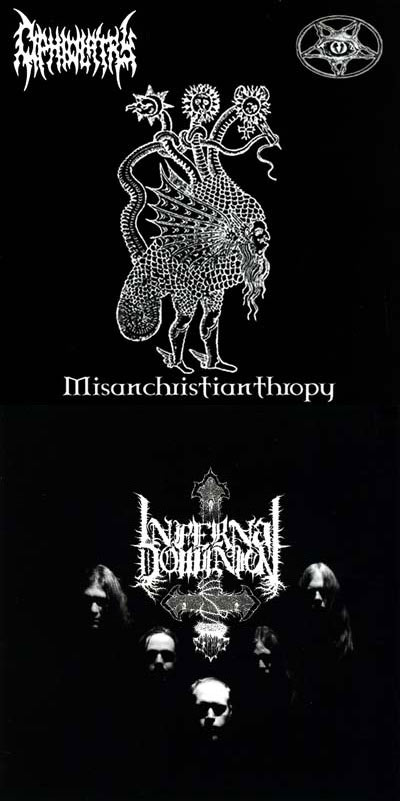 Infernal Dominion / Ophiolatry - Ophiolatry / Infernal Dominion