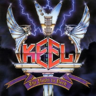 Keel - The Right to Rock