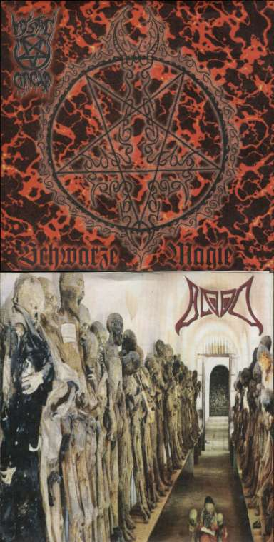 Mystic Circle / Blood - Schwarze Magie / Blood