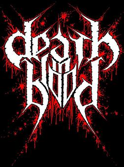 Death in Blood - Logo