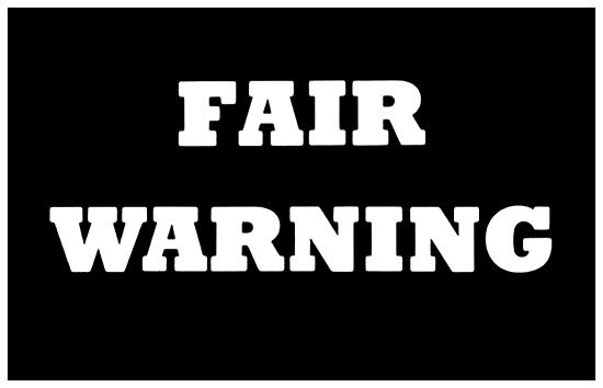 Fair Warning - Logo