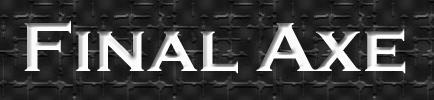 Final Axe - Logo