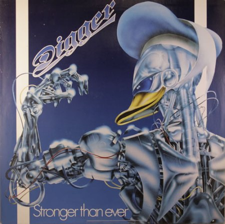 Digger — Stronger Than Ever (1986)