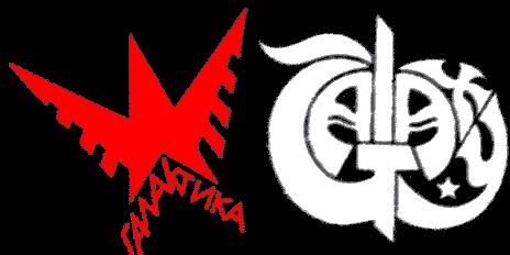 Галактика - Logo