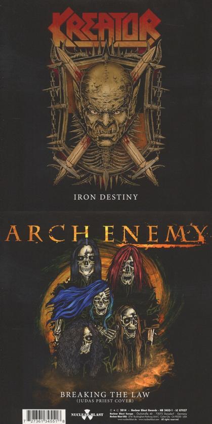 Arch Enemy / Kreator - Iron Destiny / Breaking the Law