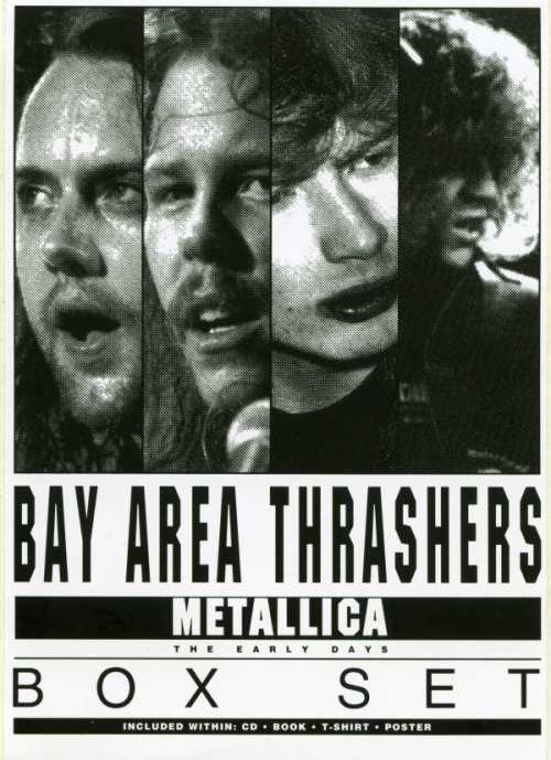 metallica bay area thrashers