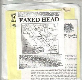 Faxed Head - Show Pride in Coalinga