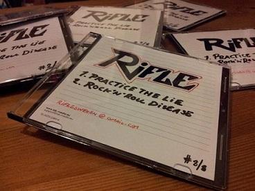 Rifle - Practice the Lie/ Rock 'n' Roll Disease EP
