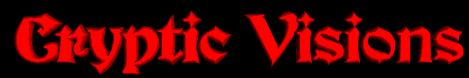Cryptic Visions - Logo