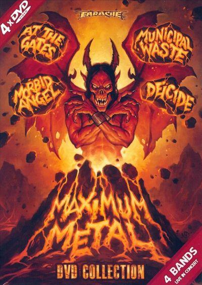 At the Gates / Morbid Angel / Deicide / Municipal Waste - Maximum Metal