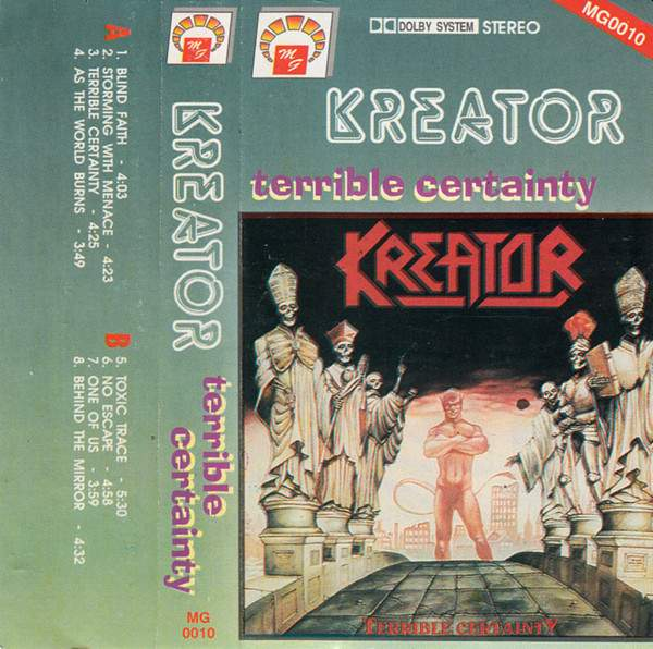 Terrible Certainty by Kreator (Album, Thrash Metal ...