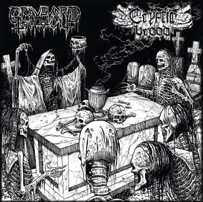 Graveyard Ghoul / Cryptic Brood - The Graveyard Brood