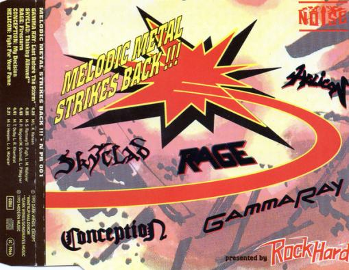 Skyclad / Gamma Ray / Conception / Rage / Helicon - Melodic Metal Strikes Back
