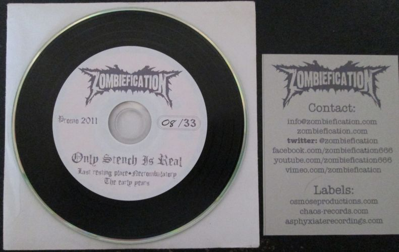 Zombiefication - Only Stench Is Real Promo 2011