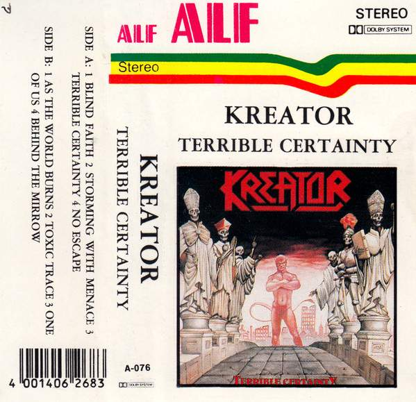 Kreator: Terrible Certainty Review - YouTube