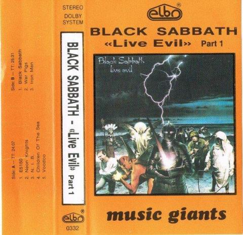 Black Sabbath - Live Evil Part 1