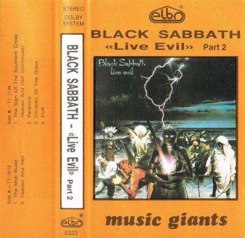 Black Sabbath - Live Evil Part 2