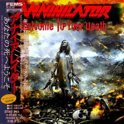 Annihilator - Welcome to Your Death