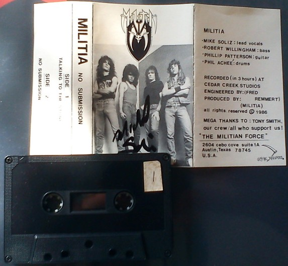 Militia - No Submission