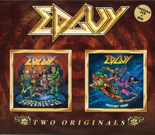 Edguy - Superheroes / Rocket Ride
