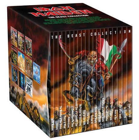 Iron Maiden The Beast Collection Encyclopaedia
