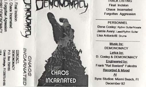 Demonomacy - Chaos Incarnated