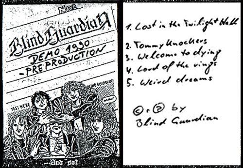 Blind Guardian - Demo 1990