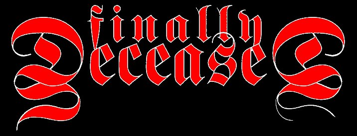 Finally Deceased - Logo
