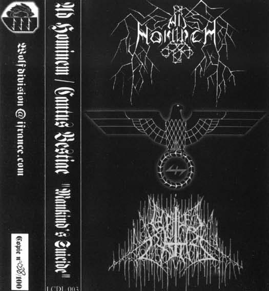 Ad Hominem / Cantus Bestiae - Mankind's Suicide