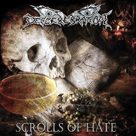 Descerebration - Scrolls of Hate