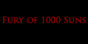 Fury of 1000 Suns - Logo
