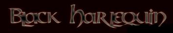 Black Harlequin - Logo