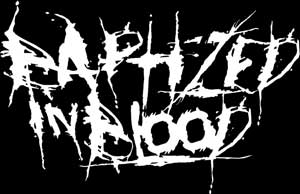 Baptized in Blood - Logo
