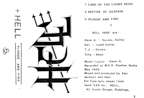 Hell - Plague and Fire