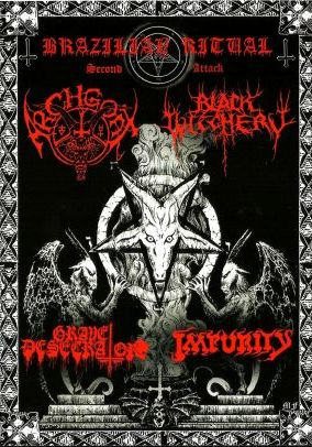 Black Witchery / Impurity / Archgoat / Grave Desecrator - Brazilian Ritual Second Attack