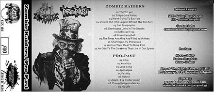 Zombie Raiders - Zombie Raiders/ Pro-Past