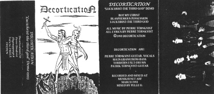 Decortication - Lucichrist - The Third God