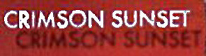Crimson Sunset - Logo