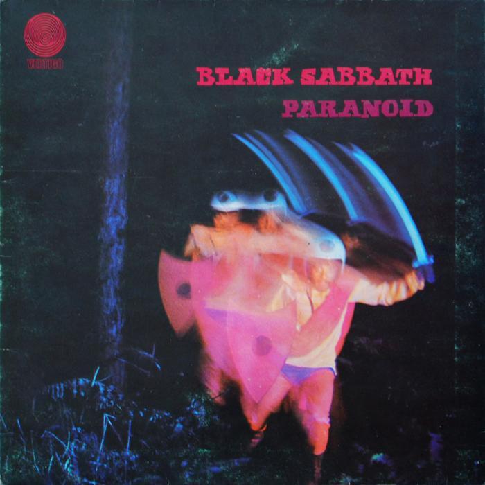 Black Sabbath — Paranoid (1970)