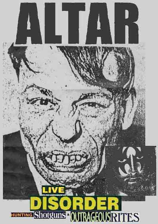 Altar - Live Disorder: Hunting Shotguns & Outrageous Rites
