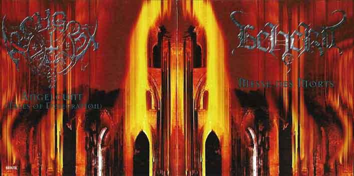 Beherit / Archgoat - Messe des Morts / Angelcunt